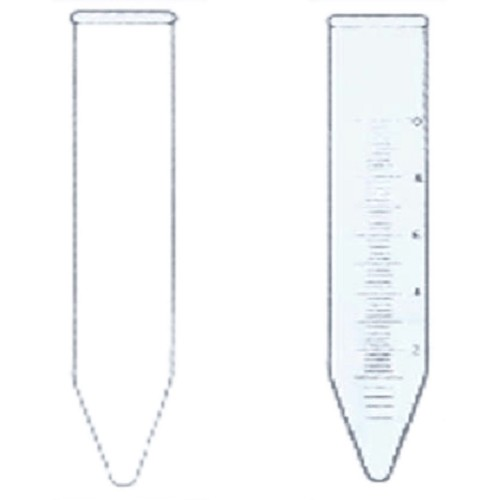 IWAKI Centrifuge Tube Conical With Rim Graduation 15 ml [ 8080CTF15] - Centrifuge Tube Conical